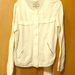 Off white linen Lucky Brand jacket